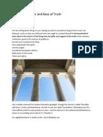 Church Pillar and BAse of Truth