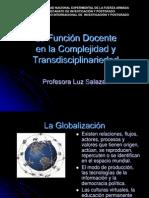 La Función Docente  Complejidad y Transdisciplinariedad Presentacion