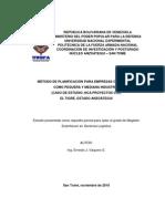 Planificación Estratégica en las Pimi de Venezuela