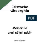 Memoriile unui catel adult