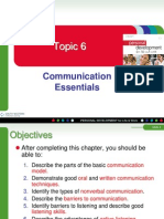 Topic 6 Communication