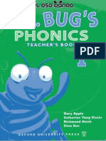 97138348 Mr Bug Phonics 1 Teacher Book JPR504