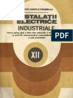 Instalatii Electrice Industriale - Manual Cl XII
