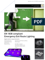 Appnote En1838 Emergency Exit Route Lighting