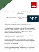 SPD Abtlg. Afferde, Anpacken