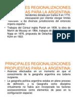 2)Regionalizaciones