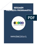 RESUMEN PROPUESTA PROGRAMÁTICA PARA UN CHILE DIGNO .pdf