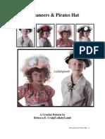 CROCHET - Buccaneers & Pirates Hat