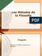 Los Métodos de la Filosofía, Fingermann