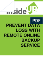 Remote Data Backup Buyer's Guide