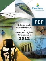 Eletrobras Demonstrações Financeiras 31 12 2012