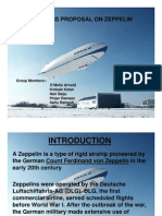Business Proposal on Zeppelin