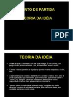 Teoria Das Ideias