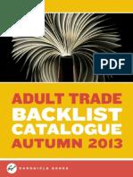 Chronicle Books UK Backlist Fall 2013 Catalog