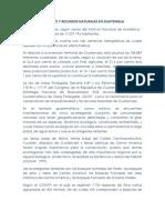 Ambiente y Recursos Naturales en Guatemala
