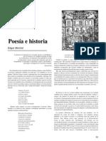 Poesía e Historia