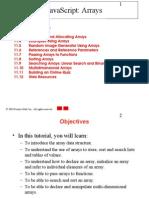 Java Script arrays - notes