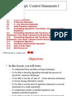 Java Script Control statements 1 - notes