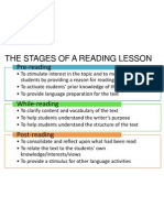 GO Reading Stages