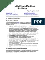 Valoración Etica del Problema Ecológico