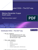 618 Distributed OSGi - The ECF Way Rev02