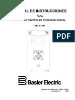 3601-72-990c1 Sistema de Control de Excitación Digital DECS-200