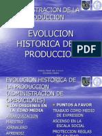 Evolucion Historica de La Produccion(1) Uno