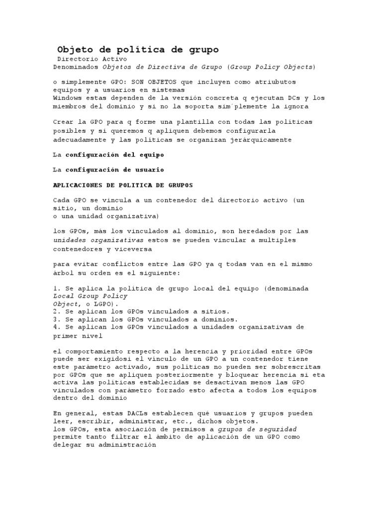 Encantador Plantilla De Diseño De Directorio Activo Patrón - Ejemplo ...