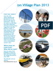 Plimmerton's Village Plan March 2013