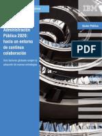 Administración Pública 2020-Hacia un entorno de continuidad