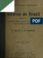 O. BILAC e M. BONFIM Atraves Do Brasil Didatico