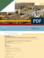 Sistemas de captaciones de agua en manantiales y pequeñas quebradas para la región andina