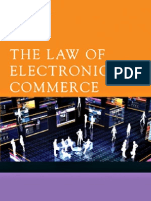 9780511688652 the Law of Electronic Commerce | Government