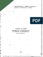 NT-DV-00-03-11 Normas de diseño Esquemas de alimentacion en e