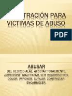 MINISTRACIÓN PARA VICTIMAS DE ABUSO