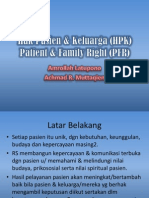 Hak Pasien & Keluarga