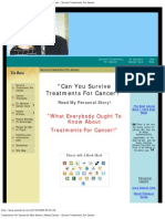 Treatments for Cancer_Dr Max Gerson _Rectal Cancer - Survive Treatments for Cancer