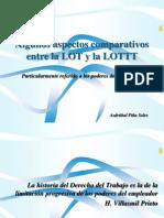 Presentacion LOTTT 2012