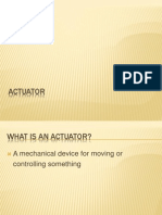 What is an Actuator