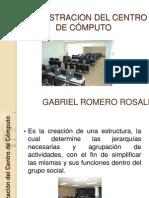 ADMINISTRACION DEL CENTRO DE CÓMPUTO