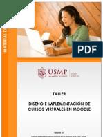 diseño de cursos virtuales en moodle