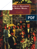 Goethe_os Anos de Aprendizagem de Wilhem Meister