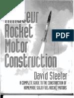 43805679 Amateur Rocket Motor Construction