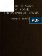 Hoult, Powis - A Dictionary of Some Theosophical Terms