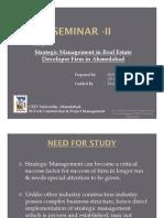 Strategic Management of Real Estate Firm