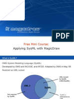 Applying SysML With MagicDraw