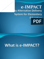 Session 9 - E - Impact