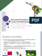 Situación Económica de América Latina Contemporánea