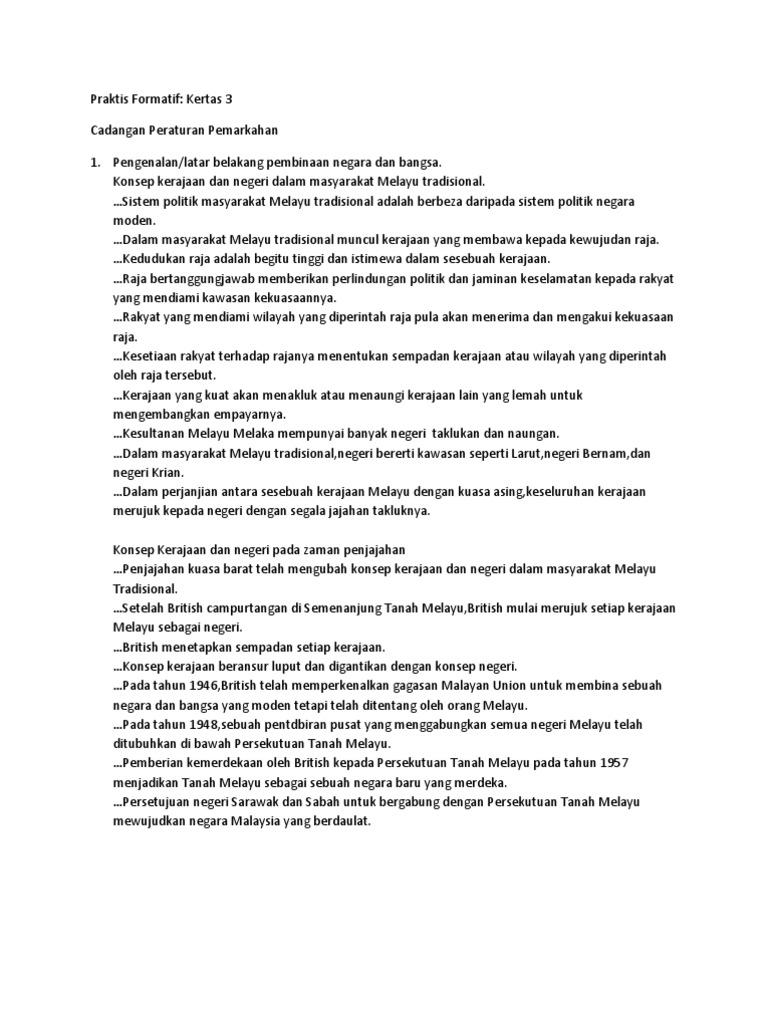Jawapan Kertas 3 Bab 3 Tingkatan 5