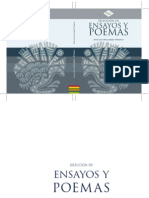 SELECCIÓN DE ENSAYOS Y POEMAS JOSÉ LUIS MELGAREJO VIVANCO